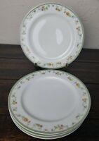 "Limoges HAVILAND France China GENEVIEVE H & Co Salad Plate Set of Four 4  7.5"""