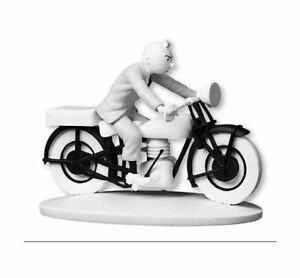 """Figura de colección Tintín en Moto """"El Cetro de Ottokar"""" - Moulinsart"""