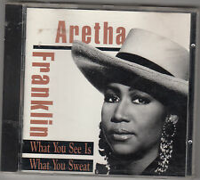 ARETHA FRANKLIN - what you see is what you sweat CD
