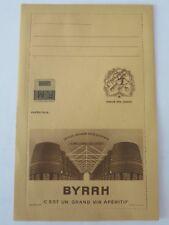 BYRRH Thuir lettre illustrée franchise militaire non utilisée