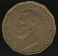 1943 George VI Nickel-Brass Threepence | British Coins | Pennies2Pounds