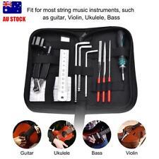 3 in 1 Luthier Guitar Care Kit Repair Maintenance Tools Full Set Guitar Tool Kit
