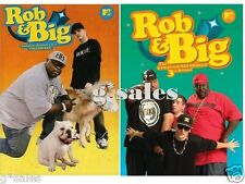Rob & Big UNCENSORED Complete Series ~ Season 1-3 (1 2 and 3) NEW 7-DISC DVD SET