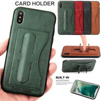 Original Card Holder Wallet Purse Leather Stand Case For iPhone X Samsung Note 8