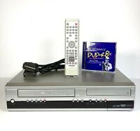 Toshiba D-VR16 DVD VCR Video Recorder Burner Combo Remote Scart TESTED & WORKING