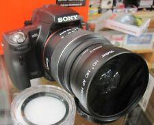 For Sony Wide Angle Lens Alpha a77 a57 a300 a100 a700 a900 a230 a390 A7 55MM