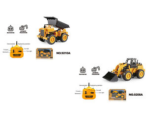 RC Bagger Nutzfahrzeug Truck 1:32 ferngesteuertes Spielzeug 2.4GHz + Batterien