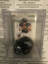 Tim Tebow Denver Broncos Mini Helmet Card Display Case Shadowbox QB Auto Gators