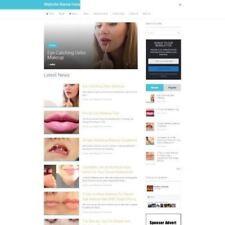 MAKEUP SHOP - Website Business For Sale - Affiliate Website Business + Amazon