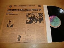 Red White And Blue Grass - Pickin Up - LP Record  EX EX