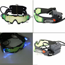 ADJUSTABLE ELASTIC MILITARY NIGHT VISION GOGGLES GLASSES SECURITY EYESHIELD  YG
