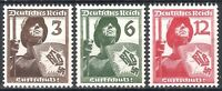 DR Nazi Reich Rare WW2 Stamp 1937 Air Defence Shield Warrior with Swastika Eagle