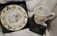 Royal Worcester Days Of The Week Plate & Mug Friday's Child 2003