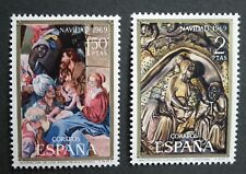 Spain (1969) Christmas / Art / Nativity / Maino Artist / Carving - Mint (MNH)