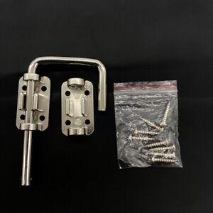 """Defender Security Sliding Door Loop Lock 2-1/8"""" Hardened Steel Bar Diecast Base"""