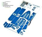 Custom Precut Aufkleber/Sticker passend für LEGO 8461 Williams F1 Team Racer
