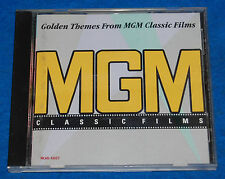 Golden Themes From MGM Classic Films CD, Complete & Tested