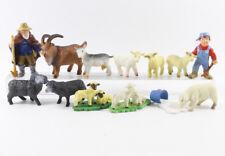 Schaf Schafe === 12 x Tierfiguren + Schäfer Tiere Bully Bullyland