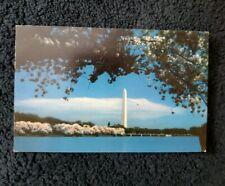 Washington District of Columbia the Washington Monument Vintage Postcard