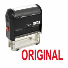ORIGINAL - ExcelMark Self Inking Self Inking Rubber Stamp A1539 | Red Ink