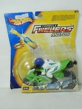 Hot Wheels Formula Fuelers Motorized Motos Nytrox Fuel High Flying Action MOC