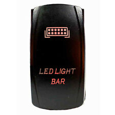 Tuff LED Lights - 2 way Rocker Red Light Bar LED Switch High Quality