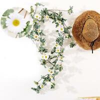 Artificial Sunflower Garland Vine DIY Home Wedding Party Decor Accessories