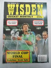 Wisden Cricket Monthly - May 1992 - Birthday gift for the cricketer