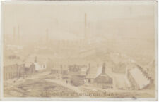 GENERAL VIEW OF MELYNCRYTHAN, NEATH - OLD REAL PHOTO POSTCARD (ref 1748/20/G7)