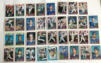 1989 NEW YORK METS Topps COMPLETE Baseball Team SET 35 Cards STRAWBERRY CARTER!