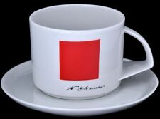 Lomonosov Porzellantasse 'Rotes Quadrat' Malewitsch 300ml
