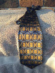 Nordstrom Mens Silk Tie By Robert Talbot Made In USA