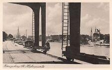 Ansichtskarte Ostpreußen  Königsberg  Hafenpartie