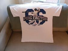YASIEL PUIG LOS ANGELES DODGERS PUIG FACTOR MLB BASEBALL SHIRT