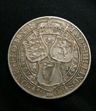 Queen Victoria 1900 Silver Florin. VF