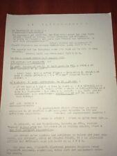 ALGÉRIE 1957. TRACT CONTRE LE GOUVERNEMENT SOCIALISTE