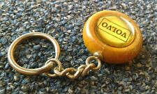 Made By Sweden Leather Key Ring For Volvo or Saab