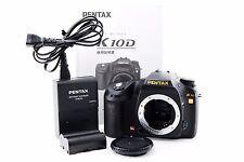 [Exc++] PENTAX K10D 10.2 MP Digital SLR Camera Black Body from japan #C316kk151