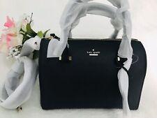 NWT Kate Spade Cameron Street Large Lane Saffiano Leather Satchel Bag $278 Black