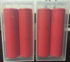 """Brand New """"4"""" Sanyo UR18650RX 2000mAh 18650 HIGH DRAIN 20A Rechargeable Battery"""