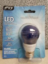 TCP 5W (40W Equiv) LED Blue Light Bulb Non-Dimmable RLA155BL CRLAS155BL