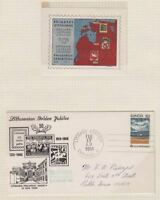 Lithuania 🇱🇹 1968 cover Chicago . kn972