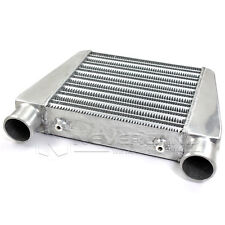"2.5"" Universal Aluminum Front Mount Tube Turbo Intercooler 280x280x65 mm Core"