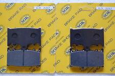 fits ZR400 Zephyr 1997-08' Front Rear Brake Pads KAWASAKI ZR 400 98 00 02 04 06
