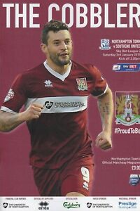 * 2014/15 - NORTHAMPTON TOWN HOME PROGRAMMES - CHOOSE FROM LIST *