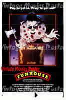 The Funhouse 1981 Repro Reproduction Print United States Horror Poster Hooper