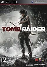 Playstation 3 Ps3 Game Tomb Raider Brand New & Factory Sealed