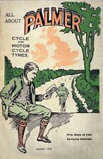 Vintage 1919 Bicycle Cycling Palmer Cycles Advertisment Poster Art Print A4