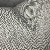 "JOHN LEWIS & Partners Croft Herringbone Cushion Cover 20"" Mole , Grey Decor"
