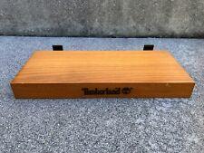 TIMBERLAND RARE VINTAGE 90s Shoe Wood Shelf Shelves Display for Slat Walls